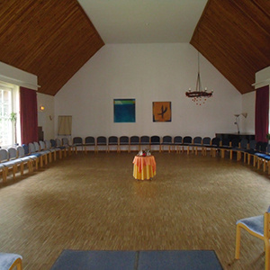 Bau des großen Saals Bauckhof Stütensen