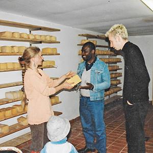 Umbau der Milchverarbeitung zur Käserei in Amelinghausen