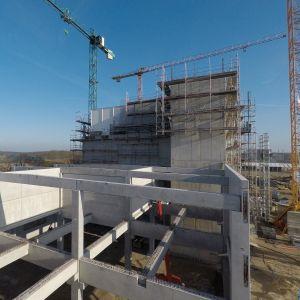 Baubeginn der neuen Hafermühle in Rosche
