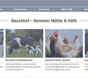 Bauckhof geht mit neuer Website online